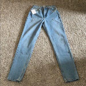 American Apparel High- Waist Jean